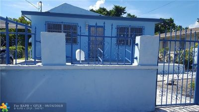 Miami Single Family Home For Sale: 5640 NW 5th Ave
