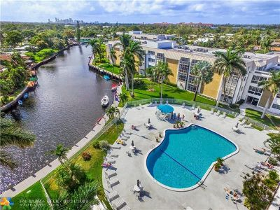 Oakland Park Condo/Townhouse For Sale: 3000 NE 16th Ave #411
