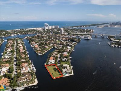 Broward County Residential Lots & Land For Sale: 2401 Laguna Dr