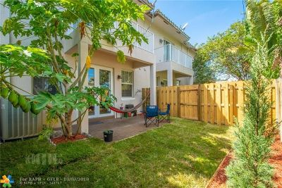 Oakland Park Condo/Townhouse Backup Contract-Call LA: 468 NW 43rd St #468