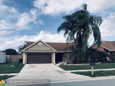 Boynton Beach Single Family Home For Sale: 6355 Indian Wells Blvd