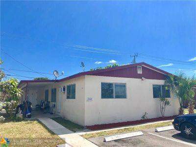 Pompano Beach Multi Family Home For Sale: 3860 NE 15th Ave