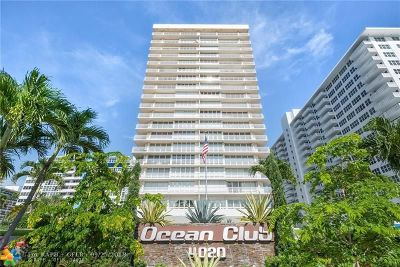Fort Lauderdale Condo/Townhouse For Sale: 4020 Galt Ocean Dr #111