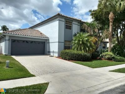 Boca Raton Single Family Home For Sale: 10555 Wheelhouse Cir