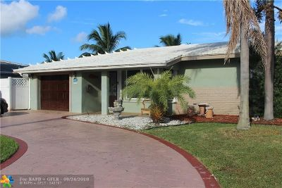 Pompano Beach Single Family Home For Sale: 370 SE 6th Ter