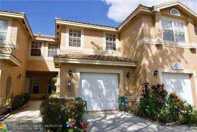 Coral Springs Condo/Townhouse For Sale: 10158 Royal Palm Blvd #505-5