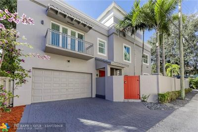 Fort Lauderdale Condo/Townhouse For Sale: 308 NE 12th Ave #308