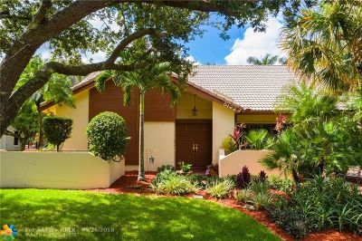 Coral Springs Single Family Home For Sale: 5122 NW 83rd Ln