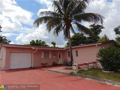 North Lauderdale Single Family Home Backup Contract-Call LA: 6480 SW 9th Pl