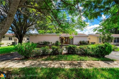 Sunrise Single Family Home For Sale: 11940 NW 29th St