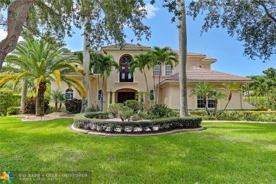 Parkland Single Family Home For Sale: 6857 NW 101st Ter