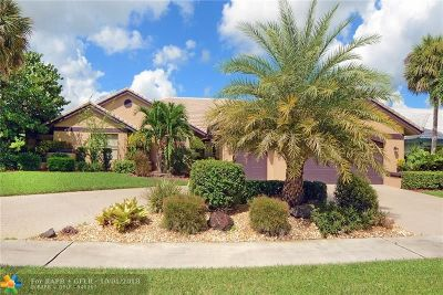 Boca Raton Single Family Home For Sale: 10876 N Boca Woods Ln