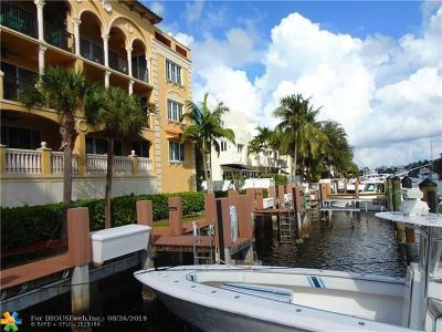 Fort Lauderdale Condo/Townhouse For Sale: 1500 SE 12th St #1A