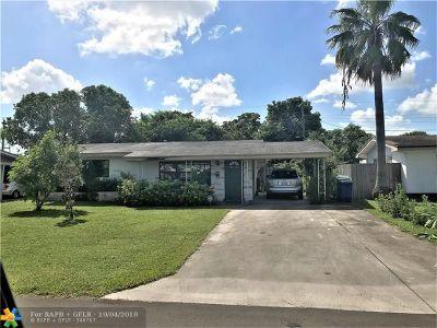 Miramar Single Family Home For Sale: 2320 Havana Dr