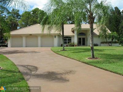 Boynton Beach Single Family Home For Sale: 9975 Hindel Ct