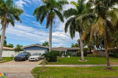 Fort Lauderdale Single Family Home For Sale: 2231 Imperial Point Dr