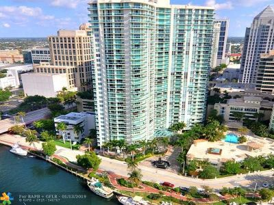 Fort Lauderdale Condo/Townhouse For Sale: 347 N New River Dr #804