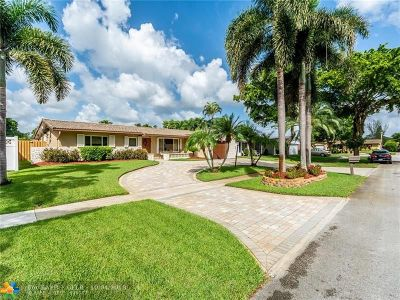 Pembroke Pines Single Family Home Backup Contract-Call LA: 2120 NW 106th Ave