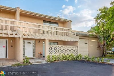 Coral Springs Condo/Townhouse For Sale: 11602 NW 29th St #5W