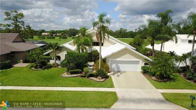 Boca Raton Single Family Home Backup Contract-Call LA: 10900 Boca Woods Ln