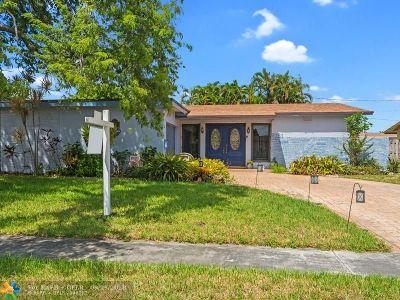 Sunrise Single Family Home Backup Contract-Call LA: 9181 NW 19th Pl