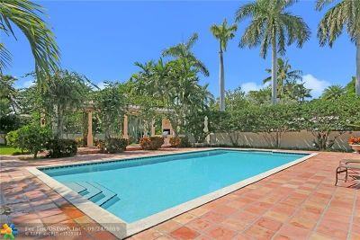 Fort Lauderdale Single Family Home For Sale: 629 Idlewyld Drive