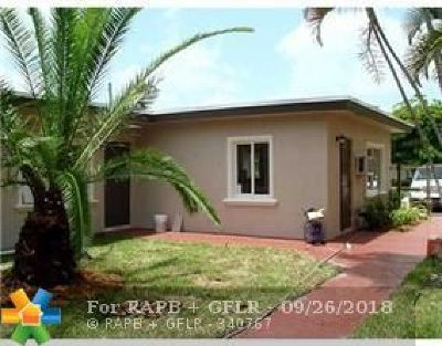 Fort Lauderdale Multi Family Home For Sale: 1104 NE 16th Ave