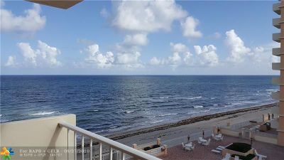 Highland Beach Condo/Townhouse For Sale: 4505 S Ocean Blvd #405