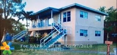 Fort Lauderdale Multi Family Home Backup Contract-Call LA: 2740 SW 2nd St