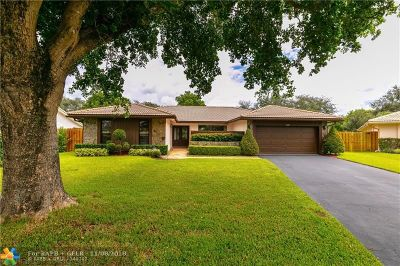 Coral Springs Single Family Home For Sale: 337 NW 97th Ln