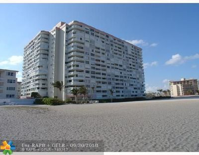 Pompano Beach Condo/Townhouse For Sale: 1012 N Ocean Blvd #504