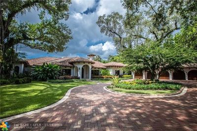 Fort Lauderdale Single Family Home For Sale: 1506 Brickell Dr