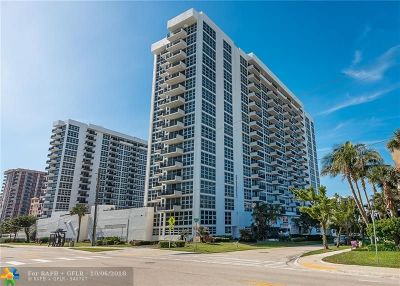 Pompano Beach Condo/Townhouse For Sale: 531 N N Ocean Blvd #1904