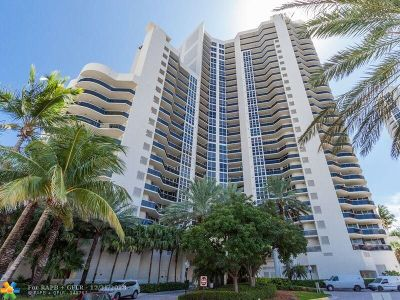Fort Lauderdale Condo/Townhouse For Sale: 3200 N Ocean Blvd #2507