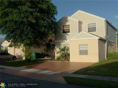 Miramar Single Family Home Backup Contract-Call LA: 3739 Marlberry Ln