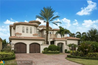 Boca Raton Single Family Home For Sale: 17393 Vistancia Cir