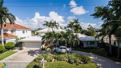 Fort Lauderdale Single Family Home For Sale: 1527 SE 11th St