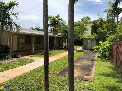 Fort Lauderdale Multi Family Home For Sale: 624 NE 7th Ave