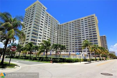Pompano Beach Condo/Townhouse For Sale: 111 N Pompano Beach Blvd #1705