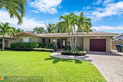 Wilton Manors Single Family Home For Sale: 2000 NE 26th Dr