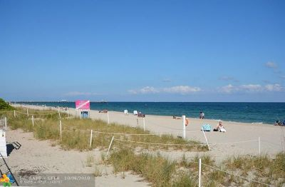 Lauderdale By The Sea Condo/Townhouse Backup Contract-Call LA: 4050 N Ocean Dr #810