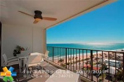 Fort Lauderdale Condo/Townhouse For Sale: 1901 N Ocean Boulevard #16C