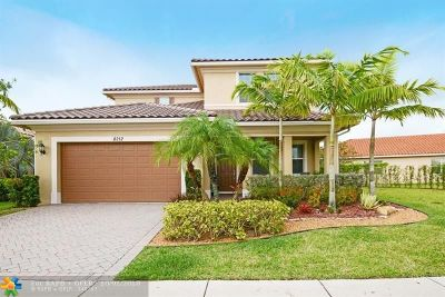 Parkland Single Family Home For Sale: 8212 NW 120th Way