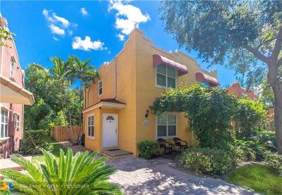 Fort Lauderdale Condo/Townhouse For Sale: 632 NW 2nd Ave #632