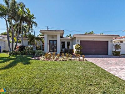 Fort Lauderdale Single Family Home For Sale: 5721 NE 21 Road