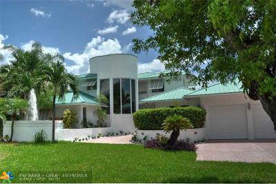 Lighthouse Point Single Family Home For Sale: 2716 NE 23rd Av
