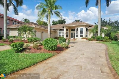 Coral Springs FL Single Family Home For Sale: $730,000
