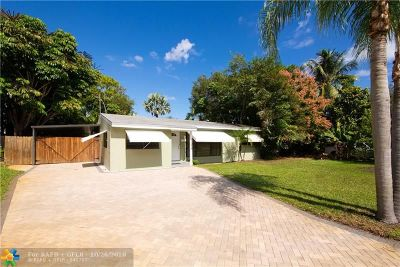 Fort Lauderdale Single Family Home Backup Contract-Call LA: 2265 SW 15th Ct