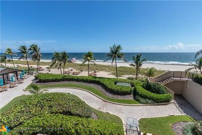 Lauderdale By The Sea Condo/Townhouse For Sale: 4900 N Ocean Blvd #408
