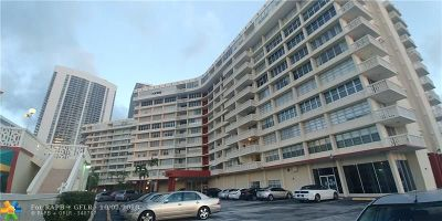 Hallandale Condo/Townhouse For Sale: 1817 S Ocean Dr #1022